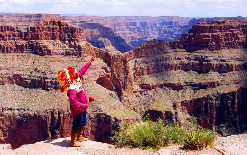 Grand Canyon West Rim Combo Tour